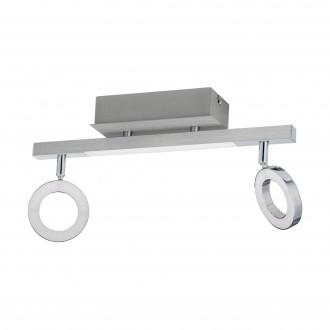 EGLO 96179 | Cardillio-1 Eglo spot lámpa elforgatható alkatrészek 2x LED 800lm + 1x LED 360lm 3000K króm, szatén, fehér