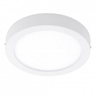 EGLO 96253 | Fueva-1 Eglo fali, mennyezeti LED panel kerek 1x LED 2200lm 3000K IP44 fehér