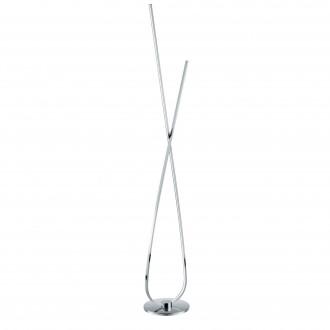 EGLO 96314 | Selvina Eglo álló lámpa 141cm vezeték kapcsoló 1x LED 2700lm 3000K króm, fehér