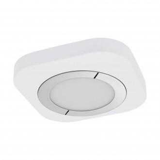 EGLO 96394 | Puyo Eglo fali, mennyezeti lámpa 1x LED 1200lm 3000K króm, fehér