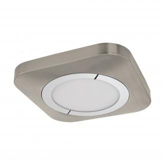 EGLO 96395 | Puyo Eglo fali, mennyezeti lámpa 1x LED 1600lm 3000K matt nikkel, króm, fehér