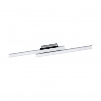 EGLO 96409 | Lapela Eglo fali, mennyezeti lámpa 2x LED 2600lm 3000K króm, szatén