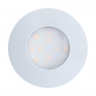 EGLO 96414 | Pineda_IP Eglo beépíthető lámpa Ø78mm 1x LED 500lm 3000K IP44/20 fehér