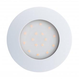 EGLO 96416 | Pineda-IP Eglo beépíthető lámpa Ø102mm 1x LED 1000lm 3000K IP44 fehér, opál