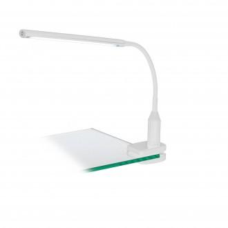 EGLO 96434 | Laroa Eglo csiptetős lámpa fényerőszabályzós érintőkapcsoló flexibilis, szabályozható fényerő 1x LED 550lm 4000K fehér