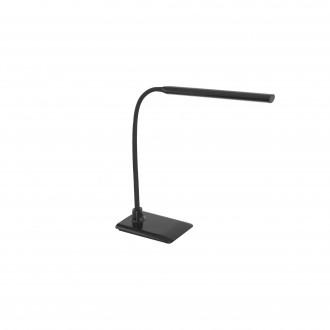 EGLO 96438 | Laroa Eglo asztali lámpa 32,5cm fényerőszabályzós érintőkapcsoló flexibilis, szabályozható fényerő 1x LED 550lm 4000K fekete