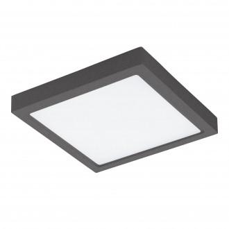 EGLO 96495 | Argolis Eglo fali, mennyezeti lámpa négyzet 1x LED 2600lm 3000K IP44 antracit, fehér