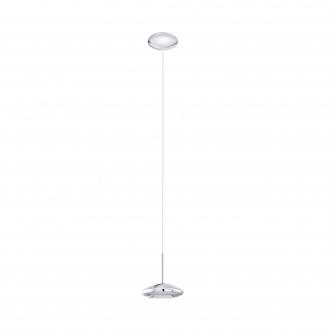 EGLO 96507 | Tarugo Eglo függeszték lámpa szabályozható fényerő 1x LED 650lm 3000K króm, fehér