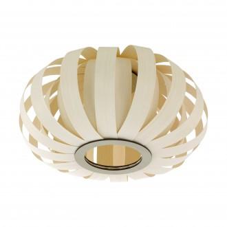 EGLO 96653 | Arenella Eglo mennyezeti lámpa 1x E27 fehér, natúr