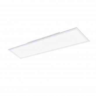 EGLO 96664 | EGLO-Connect_Salobrena Eglo álmennyezeti, mennyezeti, függeszték okos világítás téglalap távirányító szabályozható fényerő, színváltós 1x LED 4300lm 2700 <-> 6500K fehér