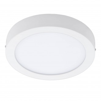 EGLO 96669 | EGLO-Connect_Fueva Eglo fali, mennyezeti okos világítás kerek szabályozható fényerő, színváltós 1x LED 2000lm 2700 <-> 6500K fehér