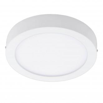 EGLO 96671 | EGLO-Connect_Fueva Eglo fali, mennyezeti okos világítás kerek szabályozható fényerő, színváltós 1x LED 2700lm 2700 <-> 6500K fehér