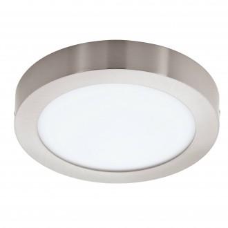EGLO 96677 | EGLO-Connect-Fueva Eglo fali, mennyezeti okos világítás kerek szabályozható fényerő, állítható színhőmérséklet, színváltós 1x LED 2000lm 2700 <-> 6500K matt nikkel, fehér