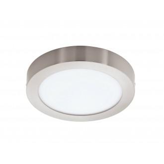 EGLO 96678 | EGLO-Connect-Fueva Eglo fali, mennyezeti okos világítás kerek szabályozható fényerő, állítható színhőmérséklet, színváltós 1x LED 2700lm 2700 <-> 6500K matt nikkel, fehér