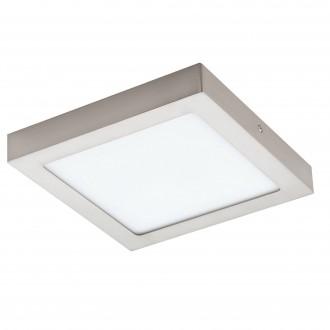 EGLO 96679 | EGLO-Connect-Fueva Eglo fali, mennyezeti okos világítás négyzet szabályozható fényerő, állítható színhőmérséklet, színváltós 1x LED 2000lm 2700 <-> 6500K matt nikkel, fehér