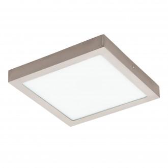 EGLO 96681 | EGLO-Connect-Fueva Eglo fali, mennyezeti okos világítás négyzet szabályozható fényerő, állítható színhőmérséklet, színváltós 1x LED 2700lm 2700 <-> 6500K matt nikkel, fehér