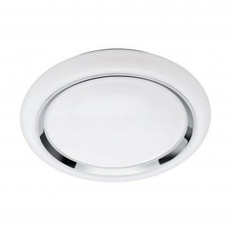 EGLO 96686 | EGLO-Connect-Capasso Eglo fali, mennyezeti okos világítás kerek szabályozható fényerő, színváltós 1x LED 2100lm 2700 <-> 6500K fehér, króm