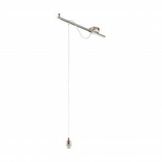 EGLO 96795 | Calcena Eglo függeszték lámpa - búra nélkül 1x E27 matt nikkel