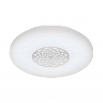 EGLO 96821 | EGLO-Connect-Capasso Eglo fali, mennyezeti okos világítás kerek szabályozható fényerő, színváltós 1x LED 2100lm 2700 <-> 6500K fehér, króm