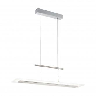 EGLO 96864 | Manresa Eglo függeszték lámpa ellensúlyos, állítható magasság, szabályozható fényerő 1x LED 3200lm 3000K matt nikkel, szatén