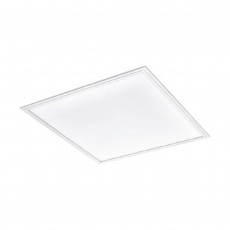 EGLO 96893 | Salobrena-2 Eglo álmennyezeti LED panel négyzet szabályozható fényerő 1x LED 4200lm 4000K fehér