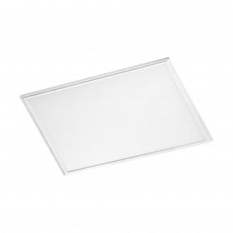 EGLO 96895 | Salobrena-RW Eglo álmennyezeti, mennyezeti, függeszték LED panel, Relax & Work négyzet impulzus kapcsoló szabályozható fényerő, állítható színhőmérséklet 1x LED 2200lm 2700 - 4000K fehér