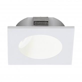 EGLO 96901 | Zarate Eglo beépíthető lámpa 80mm 1x LED 200lm 3000K fehér, fehér