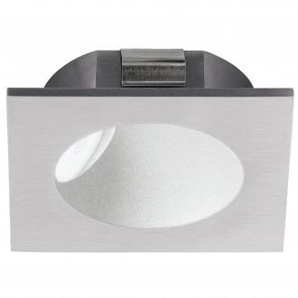 EGLO 96902 | Zarate Eglo beépíthető lámpa 80mm 1x LED 200lm 3000K ezüst, fehér