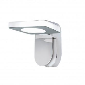 EGLO 96936 | Cabus Eglo falikar lámpa 1x LED 420lm 3000K IP44 króm, fehér