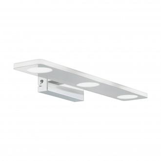 EGLO 96937 | Cabus Eglo falikar lámpa 3x LED 1260lm 3000K IP44 króm, fehér