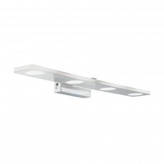 EGLO 96938 | Cabus Eglo falikar lámpa 4x LED 1680lm 3000K IP44 króm, fehér