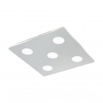 EGLO 96939 | Cabus Eglo mennyezeti lámpa 5x LED 2100lm 3000K IP44 króm, fehér