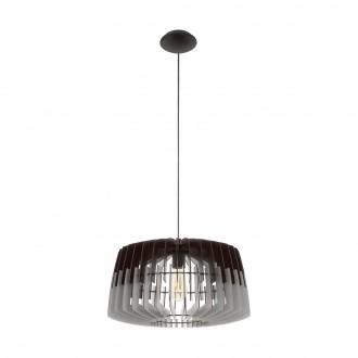 EGLO 96956   Artana Eglo függeszték lámpa 1x E27 matt nikkel, szürke, fekete
