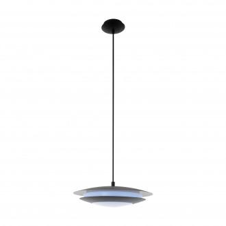 EGLO 96978 | EGLO-Connect-Moneva Eglo függeszték okos világítás szabályozható fényerő, színváltós 1x LED 2100lm 2700 <-> 6500K fekete, fehér
