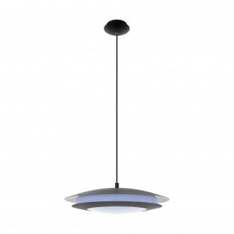 EGLO 96979 | EGLO-Connect-Moneva Eglo függeszték okos világítás szabályozható fényerő, színváltós 1x LED 3400lm 2700 <-> 6500K fekete, fehér
