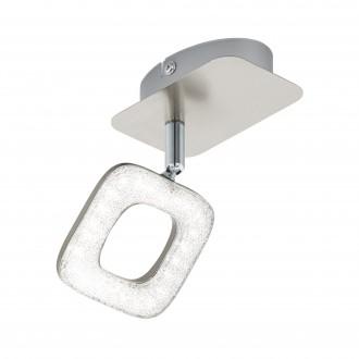 EGLO 97001   Litago-Crystal Eglo spot lámpa elforgatható alkatrészek 1x LED 350lm 3000K matt nikkel, fehér