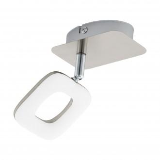 EGLO 97006   Litago Eglo spot lámpa elforgatható alkatrészek 1x LED 350lm 3000K matt nikkel, fehér