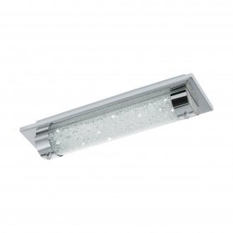 EGLO 97054 | Tolorico Eglo fali, mennyezeti lámpa 1x LED 1100lm 4000K IP44 króm, átlátszó