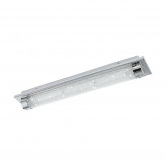 EGLO 97055 | Tolorico Eglo fali, mennyezeti lámpa 1x LED 2500lm 4000K IP44 króm, átlátszó