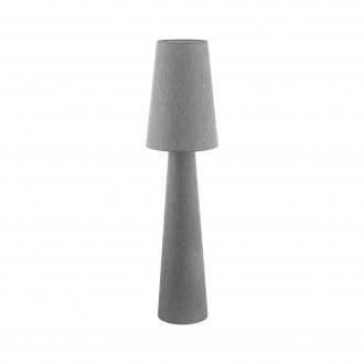 EGLO 97138 | Carpara Eglo álló lámpa 143cm taposókapcsoló 2x E27 szürke