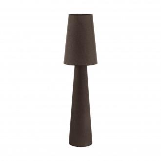 EGLO 97139 | Carpara Eglo álló lámpa 143cm taposókapcsoló 2x E27 barna