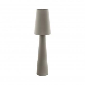 EGLO 97141 | Carpara Eglo álló lámpa 143cm taposókapcsoló 2x E27 taupe