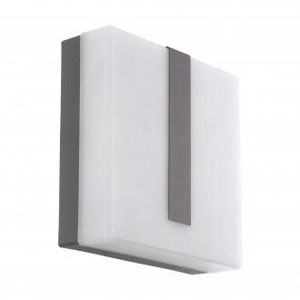 EGLO 97219 | EGLO-Connect-Torazza Eglo fali okos világítás négyzet szabályozható fényerő 1x LED 1400lm 3000K IP44 antracit, szatén