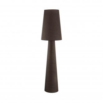 EGLO 97233 | Carpara Eglo álló lámpa 173cm taposókapcsoló 2x E27 barna