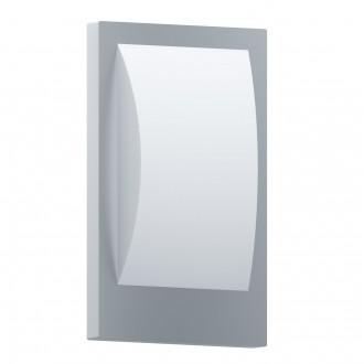 EGLO 97239 | EGLO-Connect-Verres Eglo fali okos világítás téglatest 1x E27 806lm 3000K IP44 fehér, ezüst