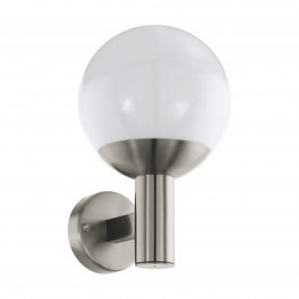 EGLO 97247 | EGLO-Connect-Nisia Eglo fali okos világítás 1x E27 806lm 3000K IP44 króm, fehér