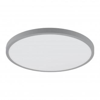 EGLO 97263 | Fueva-1 Eglo mennyezeti LED panel kerek 1x LED 2500lm 3000K ezüst, fehér