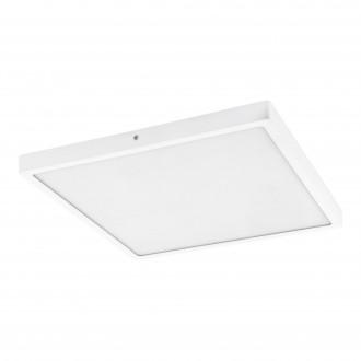 EGLO 97264 | Fueva-1 Eglo mennyezeti LED panel négyzet 1x LED 2500lm 3000K fehér