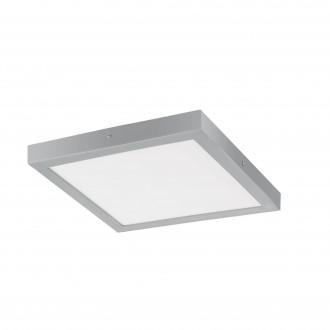 EGLO 97265 | Fueva-1 Eglo mennyezeti LED panel négyzet 1x LED 2500lm 3000K ezüst, fehér