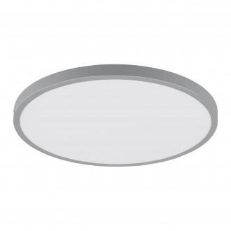 EGLO 97267 | Fueva-1 Eglo mennyezeti LED panel kerek 1x LED 2500lm 4000K ezüst, fehér